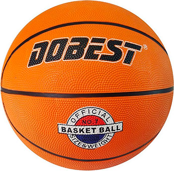 Мяч баскетбольный DoBest RB5 р.5 резина оранж. мяч для н т dobest ba 02 6шт уп