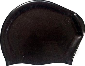 Шапочка для плавания силиконовая DoBest для длинных волос KW20 (черный) dobest силиконовая шапочка для плавания dobest с рисунком голубая