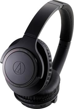 Фото - Беспроводные наушники Audio-Technica ATH-SR30BTBK черный takstar микрофон для конференций черный