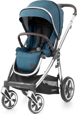 Детская прогулочная коляска Oyster 3 Regatta Mirror 122044
