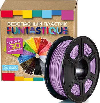 PLA-пластик в катушке Funtastique PLA-1KG-VT 1.75 мм 1 кг (Фиолетовый)