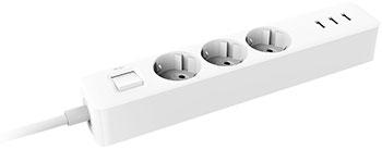 Сетевой фильтр-удлинитель Xiaomi Mi Power Strip (3-outlet 3 USB) XMCXB04QM белый