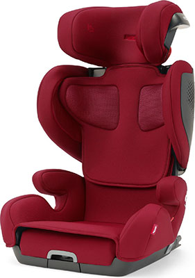 Автокресло Recaro Mako Elite группа 2/3 расцветка Select Garnet Red 00088045430050 автокресло группа 1 2 3 9 36 кг little car ally с перфорацией черный
