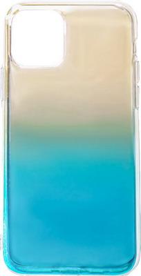 Чеxол (клип-кейс) Eva, для Apple IPhone 11 - Прозрачный/голубой (7136/11-TRBL), Китай  - купить со скидкой