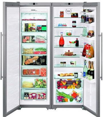 лучшая цена Холодильник Side by Side Liebherr SBSesf 7212-24