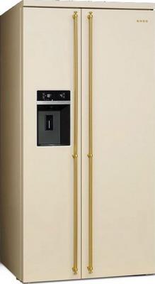 Холодильник Side by Side Smeg SBS 8004 P цена и фото