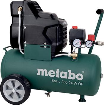 Компрессор Metabo Basic 250-24 W OF 601532000 компрессор metabo mega 350 100 w 601538000