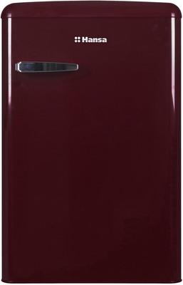Однокамерный холодильник Hansa FM 1337.3 WAA винный красный однокамерный холодильник hansa fm 1337 3 jaa бирюзовый