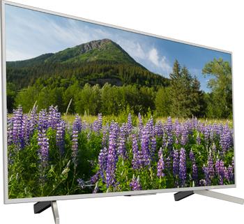 лучшая цена 4K (UHD) телевизор Sony KD-49 XF 7077 SR2