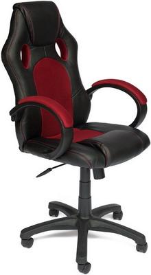 Кресло Tetchair RACER GT (кож/зам/ткань черный/бордо 36-6/13) офисное кресло tetchair racer кож зам ткань черный серый 36 6 12
