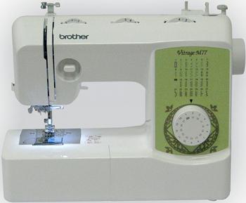 Швейная машина Brother Vitrage M 77 4977766749640 цена