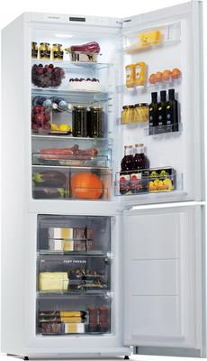 Двухкамерный холодильник Snaige RF 36 NG-Z 10027 G белое стекло