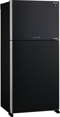 Двухкамерный холодильник Sharp SJ-XG 60 PMBK цена 2017