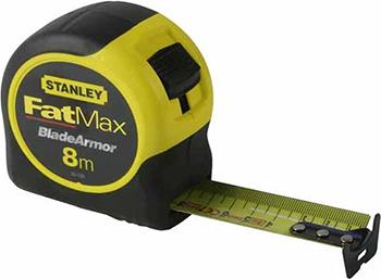 Рулетка Stanley FATMAX 8мх32мм 0-33-728 рулетка stanley fatmax 30мx9 5мм 0 34 132