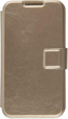 Чехол (флип-кейс) Red Line iBox Universal для телефонов 4 2-5 дюйма (золотой)