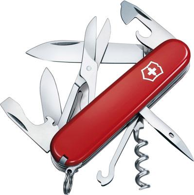 Нож перочинный Victorinox Climber 91 мм 14 функций красный