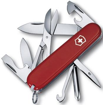 Нож перочинный Victorinox Super Tinker  91 мм  14 функций  красный