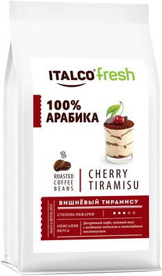Кофе зерновой Italco Вишнёвый тирамису (Cherry tiramisu) ароматизированный 375 г dr oetker крем тирамису 64 г