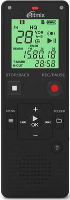 Цифровой диктофон Ritmix RR-820 4Gb Black