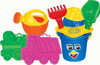 Набор для песочницы Полесье №304 полесье набор игрушек для песочницы полесье marvel человек паук 11 4 предмета