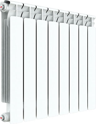 Водяной радиатор отопления RIFAR A 500 8 секций