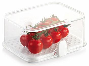 Kонтейнер для холодильника Tescoma PURITY малый 891820 термометр для холодильника tescoma gradius цвет серебристый