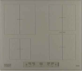 Встраиваемая электрическая варочная панель Hotpoint-Ariston KIA 641 B B (DS) индукционная варочная панель hotpoint ariston kia 641 b c