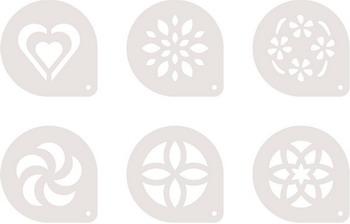 Трафареты для капучино Tescoma myDRINK 6 pcs 308850