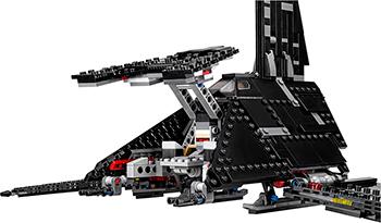 Конструктор Lego STAR WARS ''Иперский шаттл Креника'' 75156-L