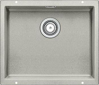 Кухонная мойка Blanco 523435 SUBLINE 500-U SILGRANIT жемчужный с отв.арм. InFino