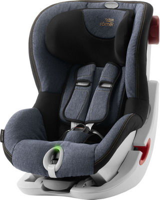 Автокресло Britax Roemer King II LS Blue Marble Highline 2000027855 автокресло britax romer king ii ls black series football edition highline
