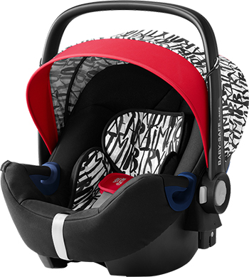 Автокресло Britax Roemer Baby-Safe2 i-size Letter Design Highline 2000030760 детское автокресло baby safe2 i size coral peach trendline