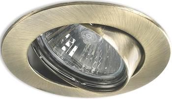 Светильник встроенный DeMarkt Круз 637010301 1*50 W GU 10 220 V светильник уличный demarkt титан 808040401 1 21 w gu 10 220 v