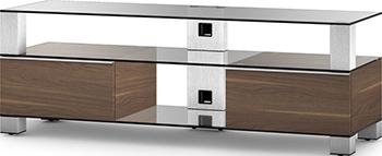Фото - Тумба под телевизор Sonorous MD 9140 C-INX-WNT мебель для ванной opadiris сакура 80 светлый орех матовое стекло