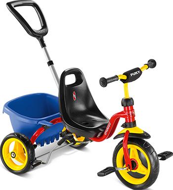 Велосипед Puky CAT 1S 2213 трехколесный red красный цена
