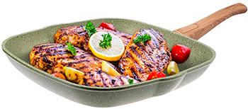 Сковорода Panairo OliverStone 27*27см (O-27-G)