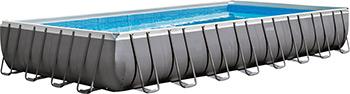Бассейн Intex Ultra Frame 975х488х132 54368л 26374 intex бассейн каркасный ultra frame pool