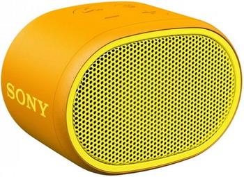 Портативная акустика Sony SRS-XB 01 Y желтая цена и фото