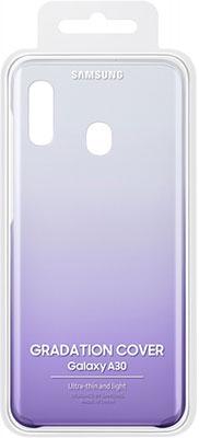 Чехол (клип-кейс) Samsung A 30 (A 305) GradationCover violet EF-AA 305 CVEGRU цена и фото