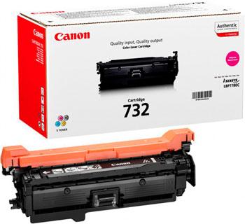 Тонер-картридж Canon 732 M 6261 B 002 Пурпурный тонер картридж canon 054 h пурпурный для лазерного принтера оригинал