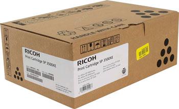 Принт-картридж Ricoh SP 3500 XE 407646 Черный тонер картридж для лазерных аппаратов ricoh тип sp3500xe 406990 407646