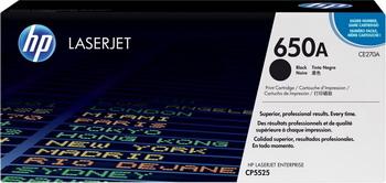 Картридж HP CE 270 A Черный