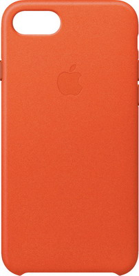 Фото - Чехол (клип-кейс) Apple Leather Case для iPhone 8/7 цвет (Bright Orange) ярко-оранжевый MRG82ZM/A чехол для apple iphone 8 apple iphone 7 apple iphone 6 6s plasma series case для iphone 6s 7 8