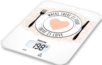 Фото - Кухонные весы Beurer KS19 Love весы кухонные beurer ks19 sequence рисунок