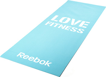 Коврик для йоги и фитнеса Reebok Love (голубой) RAMT-11024BLL