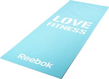 Коврик для йоги и фитнеса Reebok Love (голубой) RAMT-11024BLL цена
