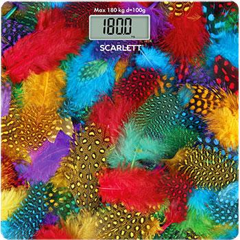 Весы напольные Scarlett SC-BS33E033 перья