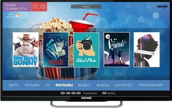 Фото - 4K (UHD) телевизор ASANO 43LU8030S телевизор