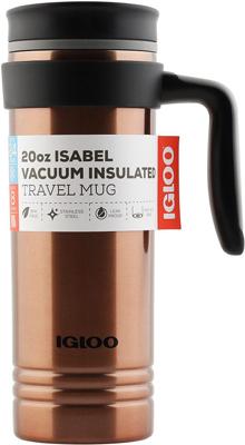 Кружка-термос Igloo из нержавеющей cтали ''Isabel'' 591 мл Copper