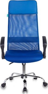 Кресло Бюрократ KB-6N/SL/BL/TW-10 синий кресло компьютерное бюрократ kb 9 eco